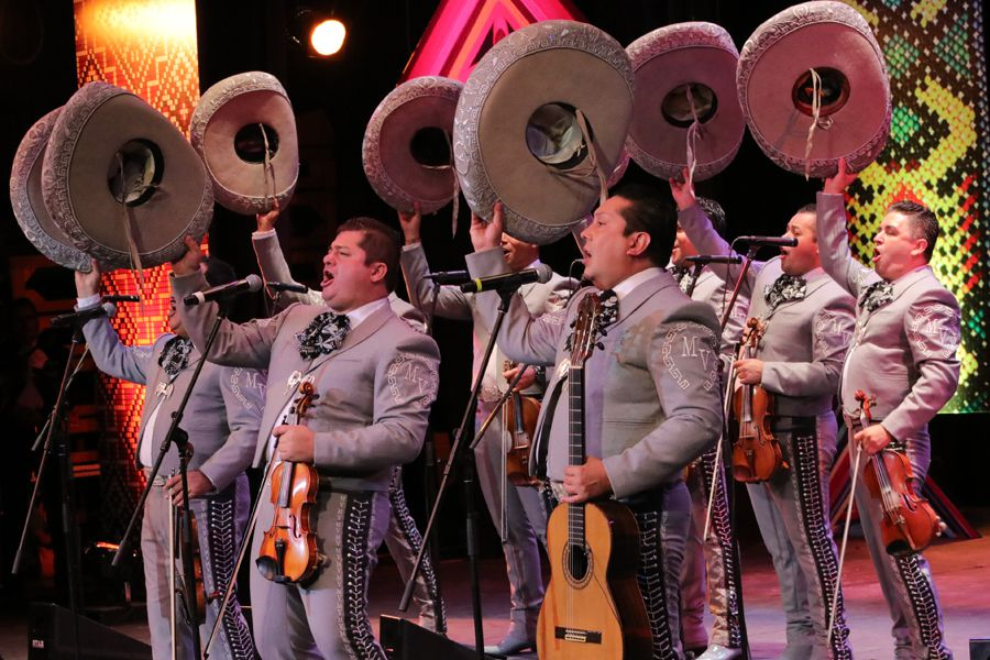 Mariachi Los Palmeros at the Coachella Mariachi Festival 2019
